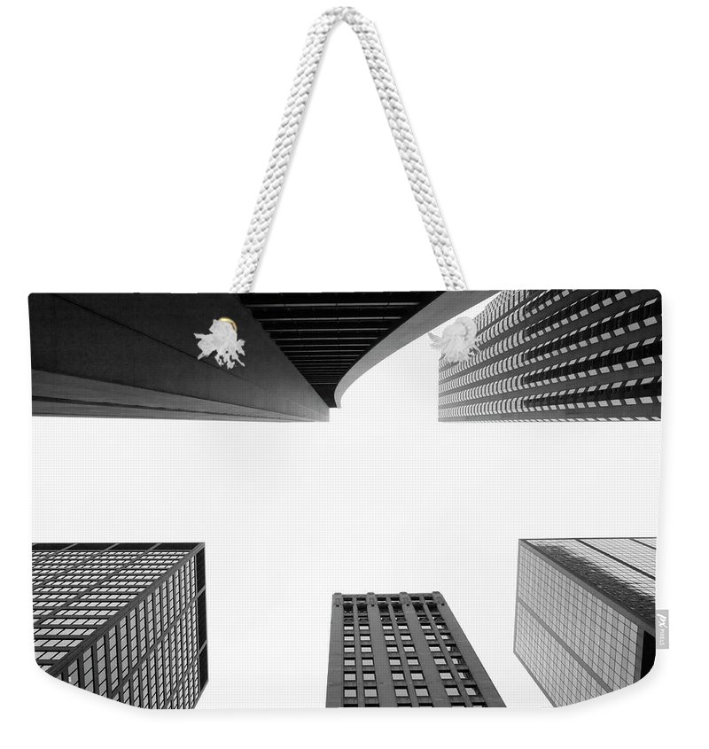 Downtown District Weekender Tote Bag featuring the photograph Uptown Chicago by Jpecha