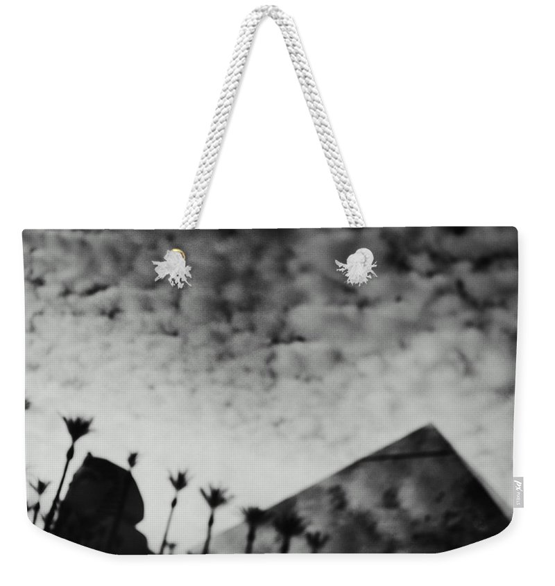 Hotel Weekender Tote Bag featuring the photograph Usa,nevada,las Vegas,luxor Hotel by Seth Joel