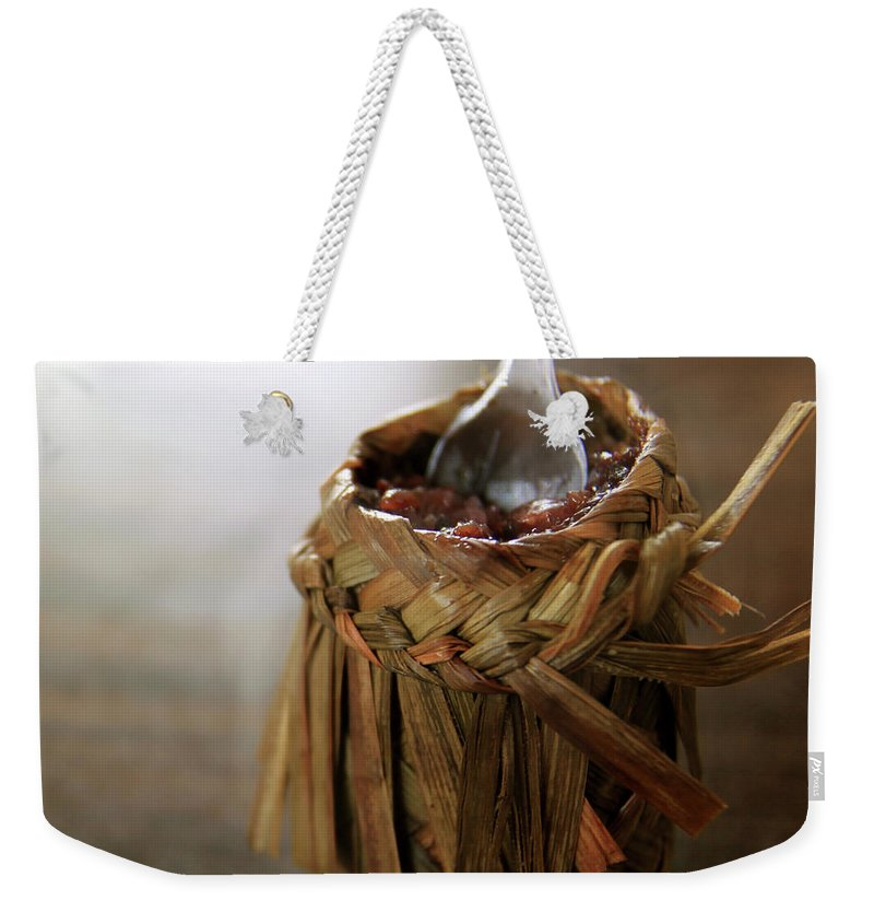 Chinese Culture Weekender Tote Bag featuring the photograph Vanilla Rice by 100