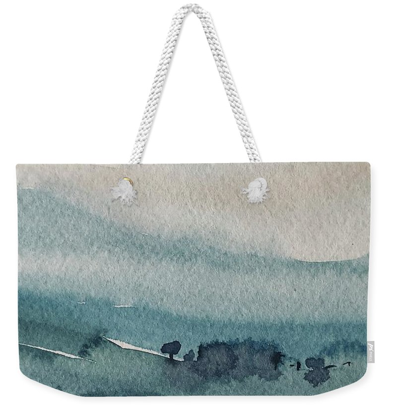 Landscape Weekender Tote Bag featuring the photograph Version 3 Color by Luisa Millicent