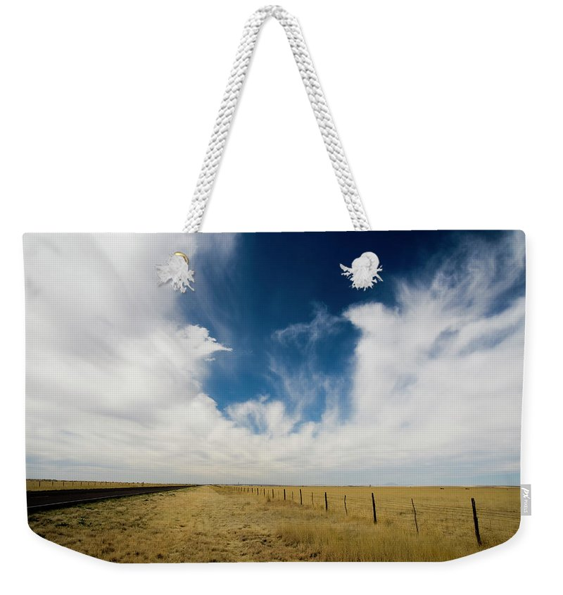 Scenics Weekender Tote Bag featuring the photograph West Texas Grasslands United States Of by Tier Images