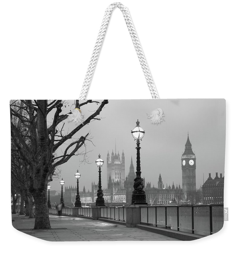 Scenics Weekender Tote Bag featuring the photograph Westminster At Dawn, London by Gp232