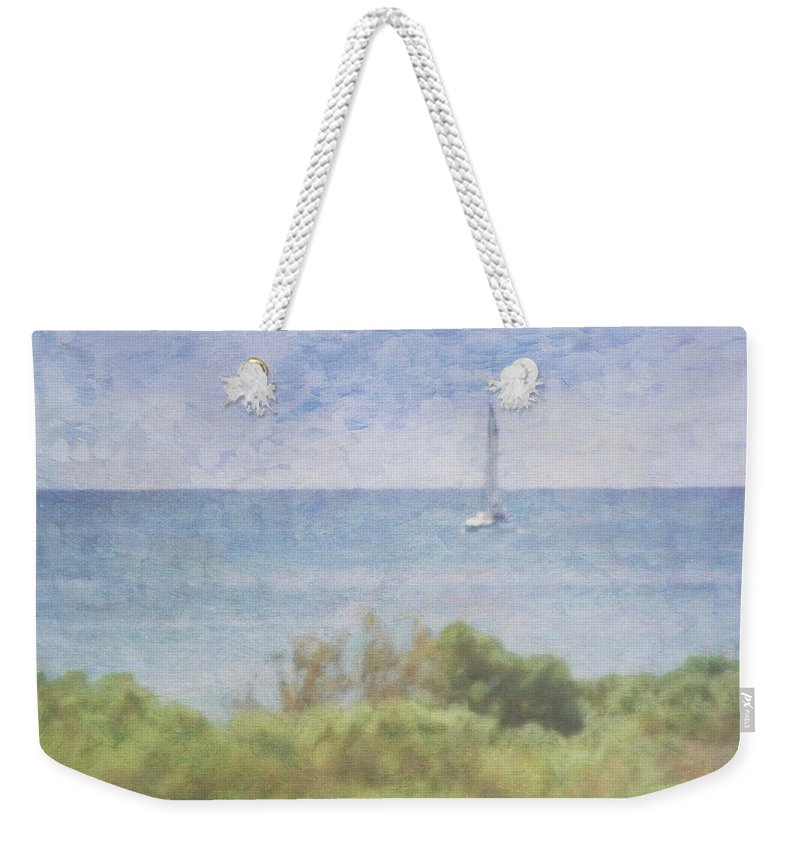 Tranquility Weekender Tote Bag featuring the photograph When Your Boat Comes In by Craig Hewson