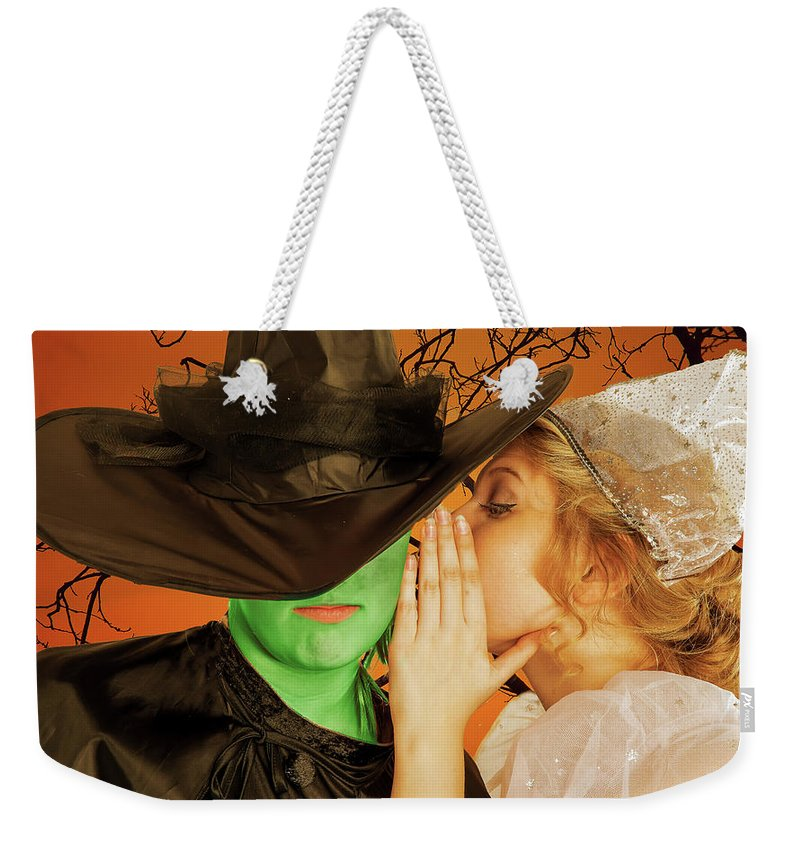 Broadway Weekender Tote Bag featuring the photograph Wicked 2 by Alan D Smith