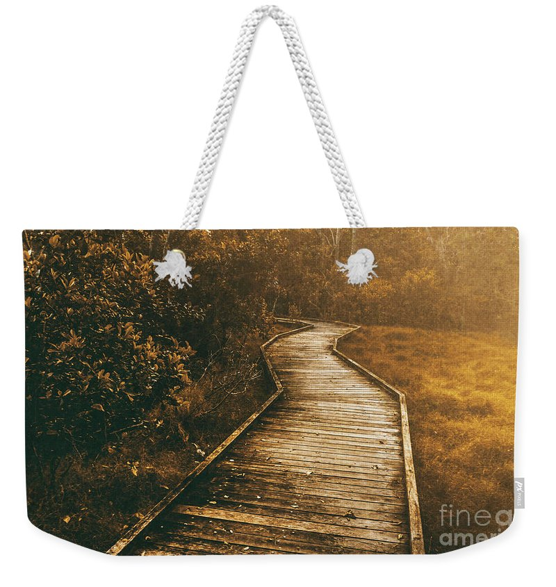 Path Weekender Tote Bag featuring the photograph Wild Routes by Jorgo Photography - Wall Art Gallery