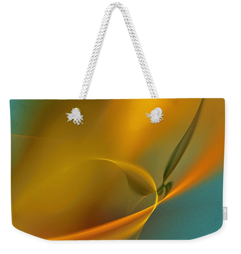 Orange Color Weekender Tote Bag featuring the photograph Yellow Lights by I Dedicate This Creation To You All Dream Makers... Realeoni