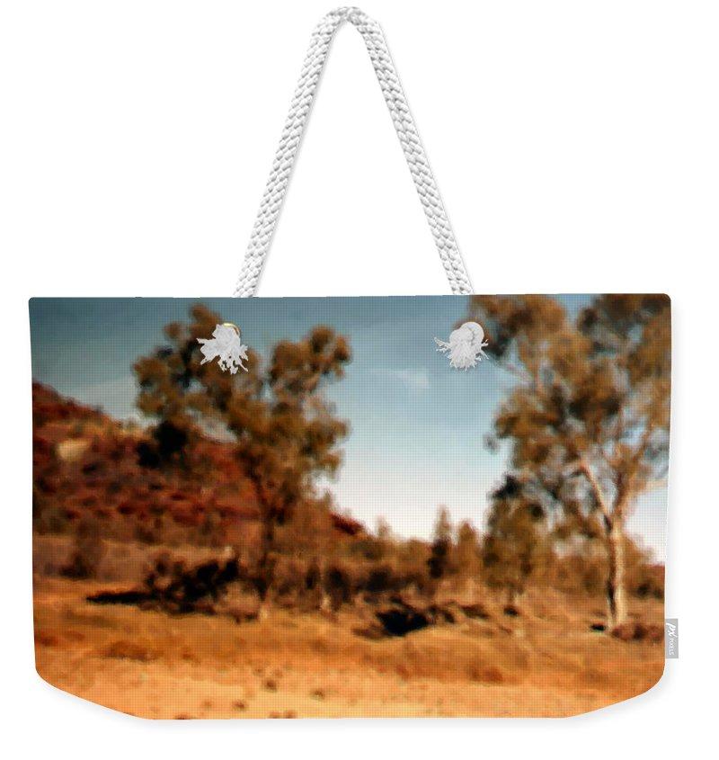 Daintree Australia Weekender Tote Bag featuring the mixed media Daintree Australia by Asbjorn Lonvig