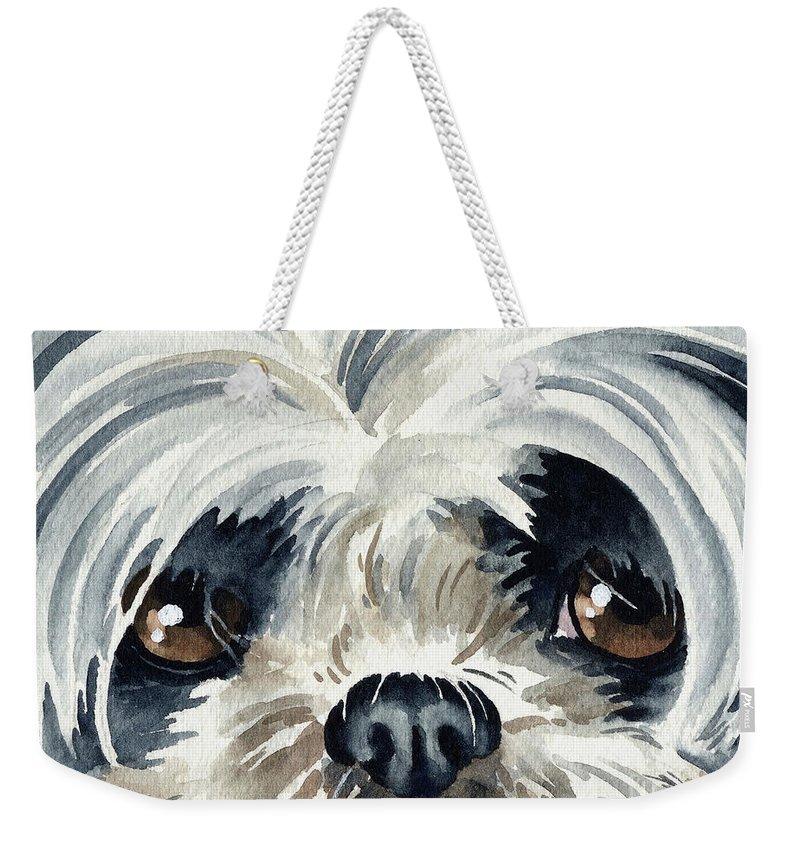 Shih Tzu Weekender Tote Bags