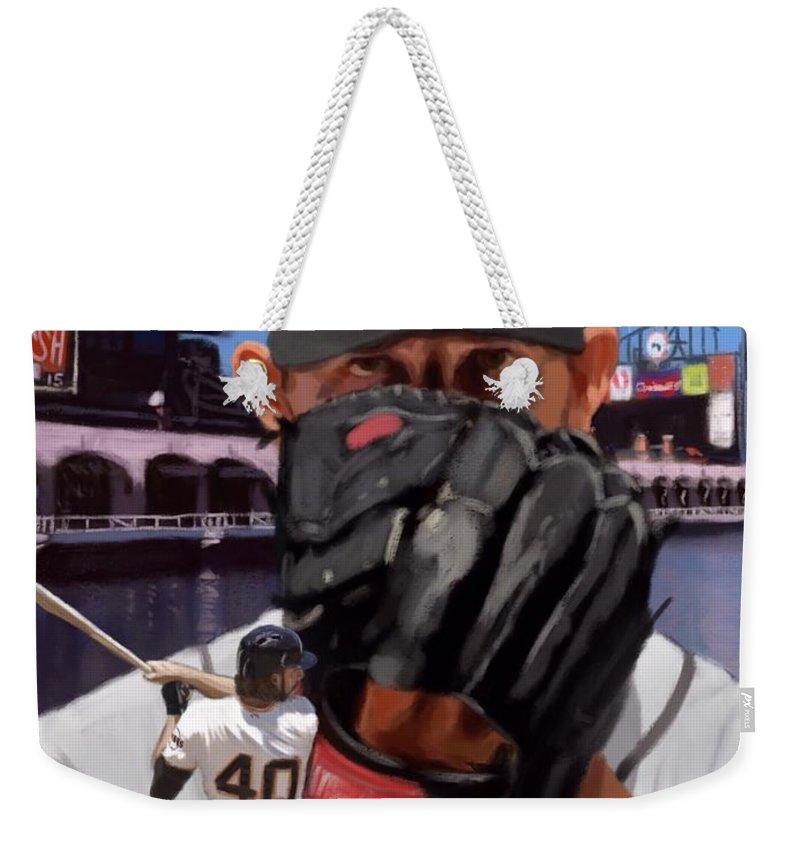Madison Bumgarner Weekender Tote Bags