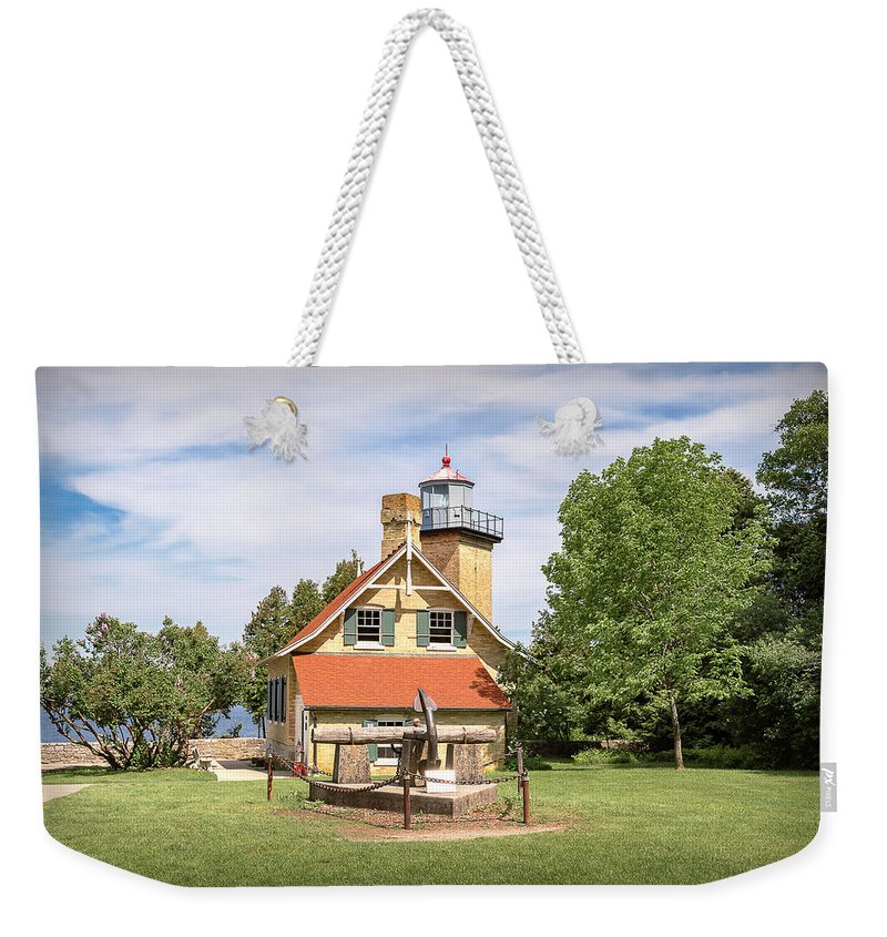 Lighthouse Weekender Tote Bag featuring the photograph 20-0608-0078 by Anthony Roma