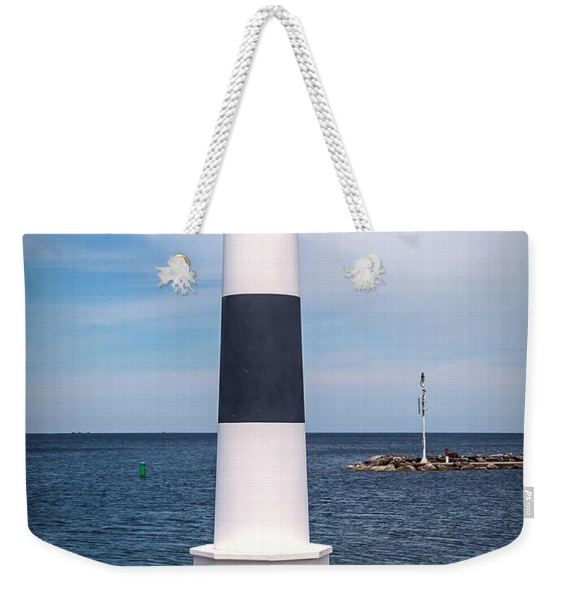 Lighthouse Weekender Tote Bag featuring the photograph 20-0608-0102 by Anthony Roma