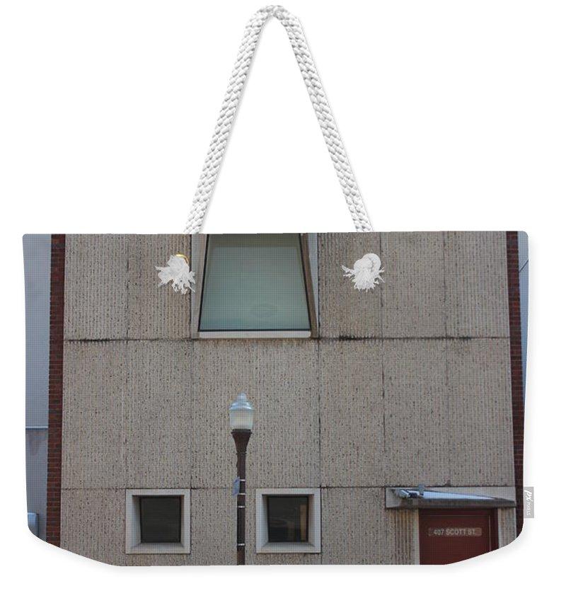 407 Scott Street Weekender Tote Bag featuring the photograph 407 Scott Street by Callen Harty