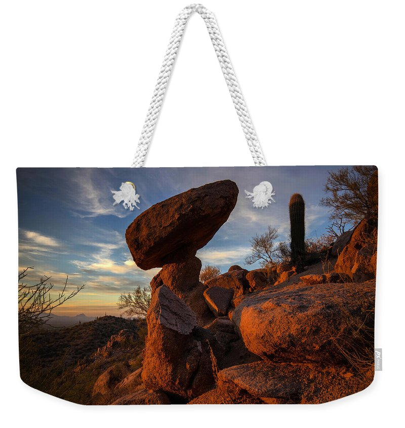 Photography Weekender Tote Bag featuring the photograph Ancient Ones by Kati Astraeir