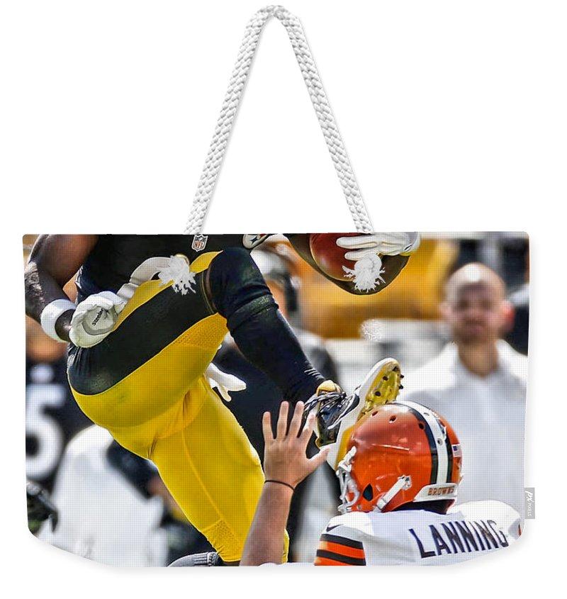 Antonio Brown Weekender Tote Bags