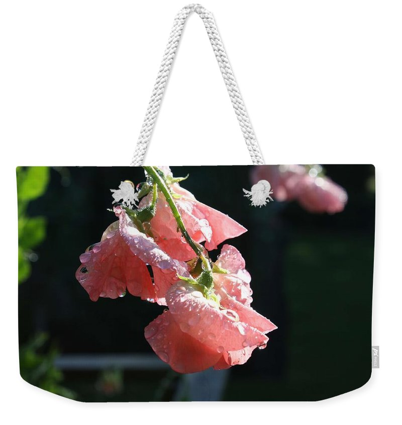Florals Weekender Tote Bags