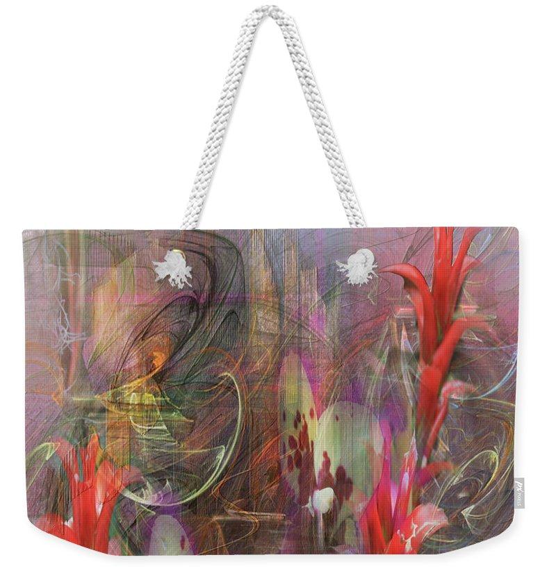 Chosen Ones Weekender Tote Bag featuring the digital art Chosen Ones by John Robert Beck