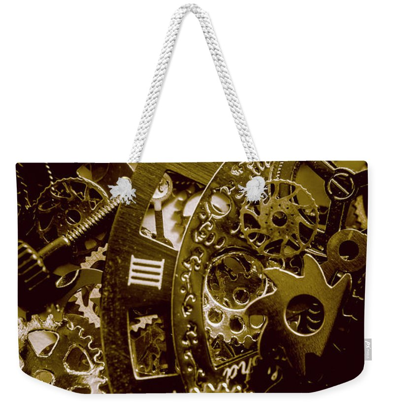 Time Weekender Tote Bag featuring the photograph Circle Back by Jorgo Photography - Wall Art Gallery