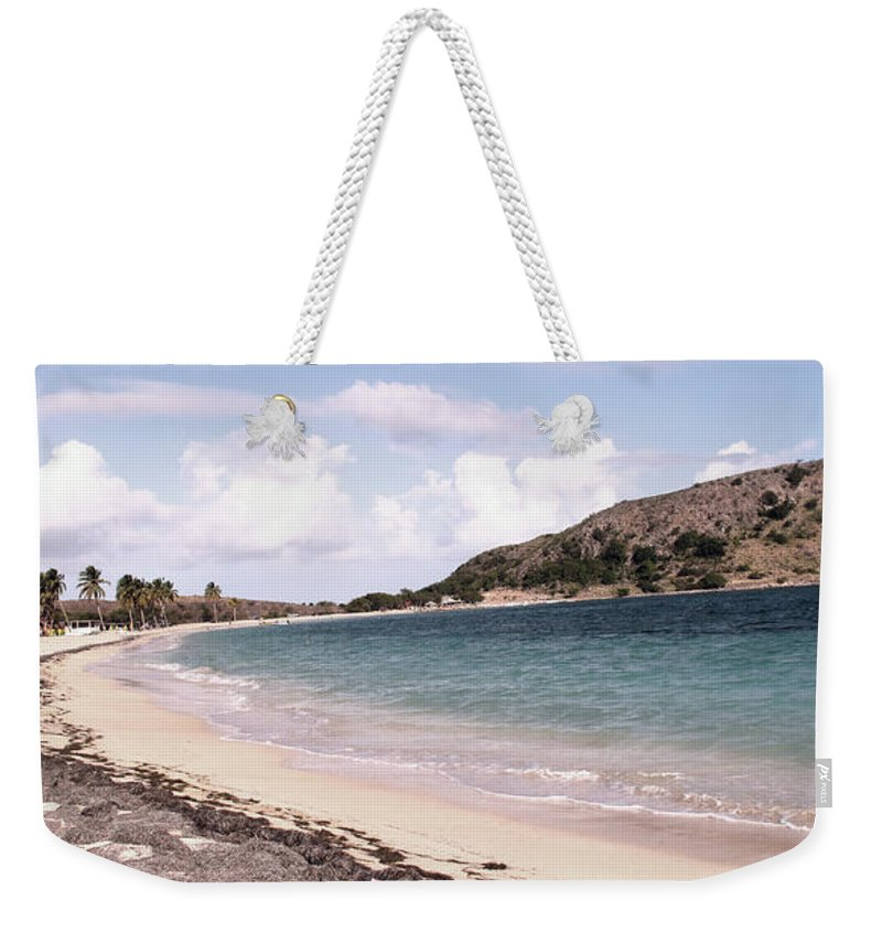 Digital Photo Weekender Tote Bag featuring the photograph CockelShell Beach in January by Ian MacDonald