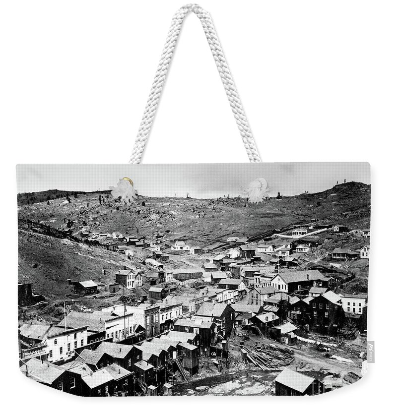 1864 Weekender Tote Bag featuring the photograph Colorado Territory 1864 by Granger