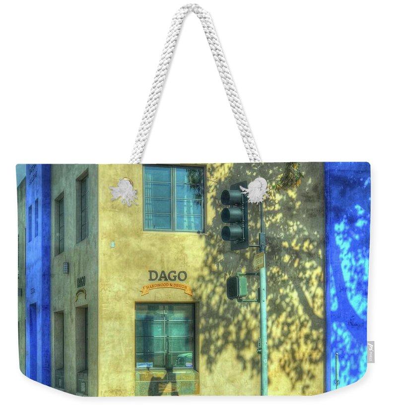 Hardwood Weekender Tote Bag featuring the photograph Dago Hardwood by Debbi Granruth