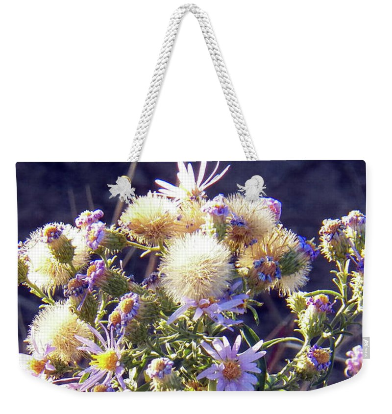 Nature Weekender Tote Bag featuring the photograph Dance In The Light by Brian Commerford