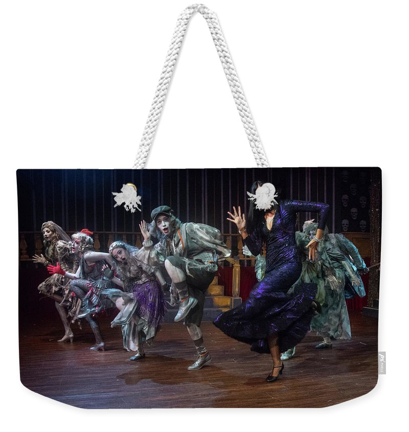Adams Family Weekender Tote Bag featuring the photograph Dance With The Relatives by Alan D Smith