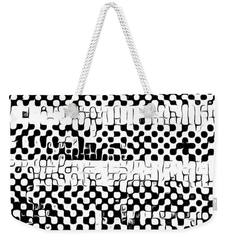 Art Weekender Tote Bag featuring the digital art Details by Andrew Johnson