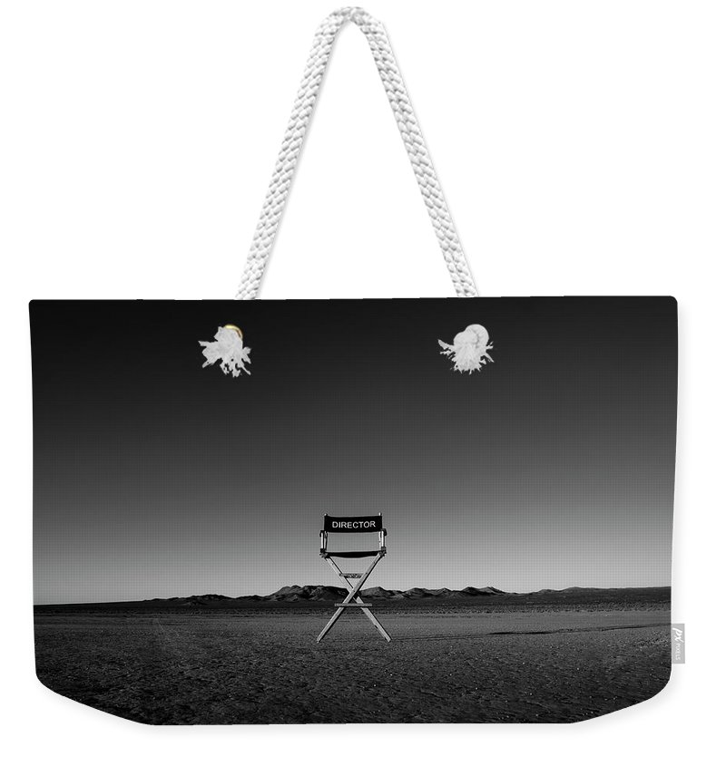 Weekender Tote Bag featuring the photograph Director's Cut by Brendan North