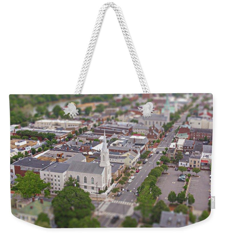 Fredericksburg Baptist Church Weekender Tote Bags