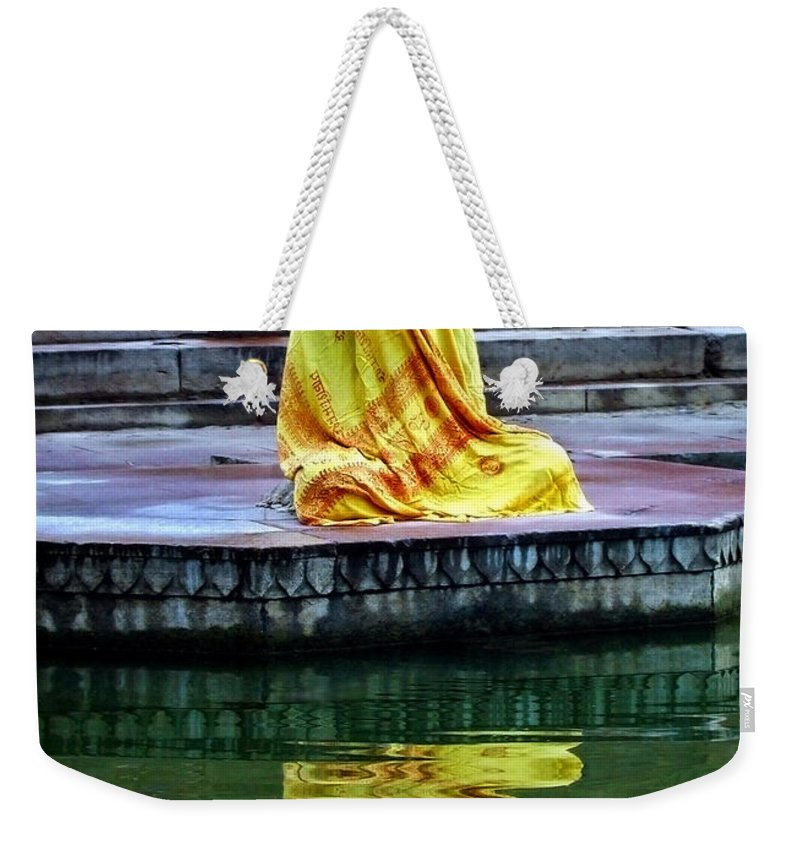 Meditate Weekender Tote Bag featuring the photograph Ganga Dream by Skip Hunt