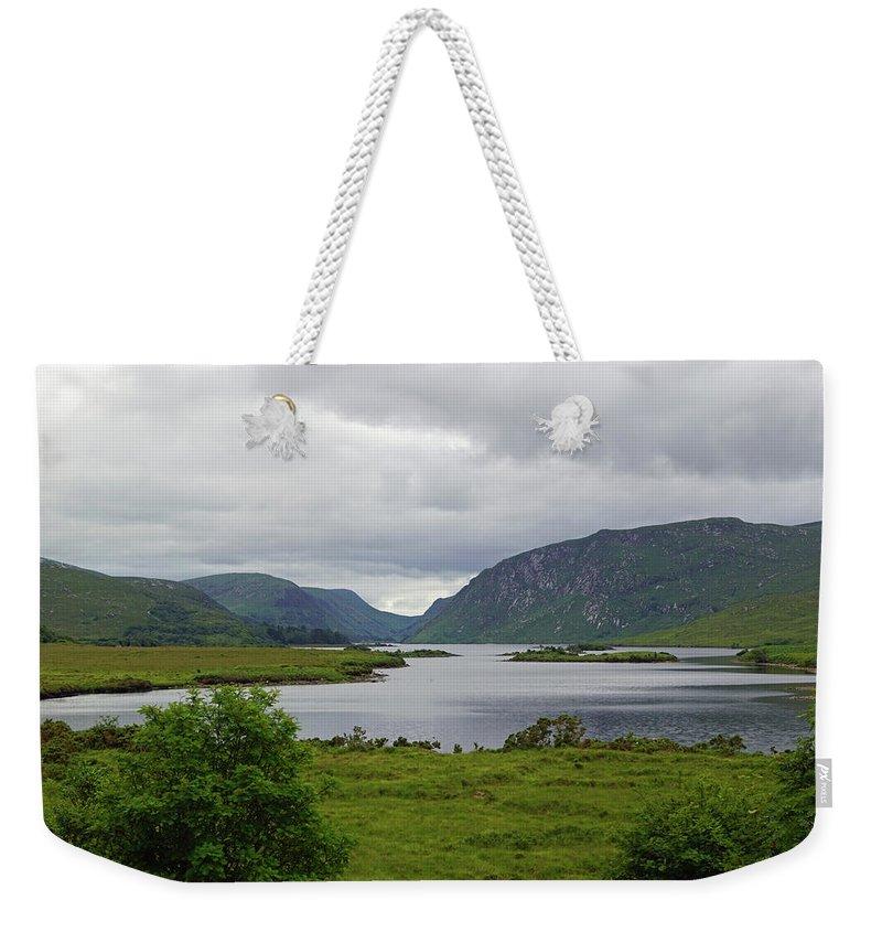 River Weekender Tote Bags