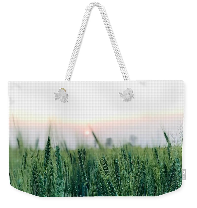 Lanscape Weekender Tote Bag featuring the photograph Greenery by Prashant Dalal