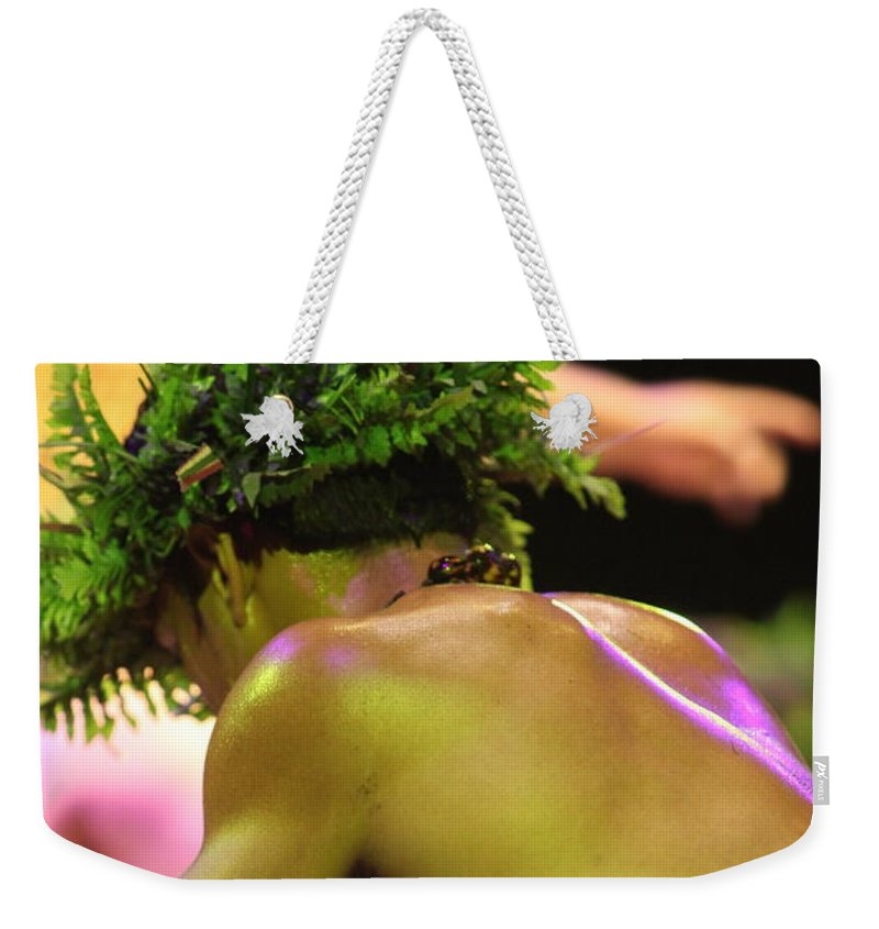 Hawaii Weekender Tote Bag featuring the photograph Hawaiian Strength by Nadine Rippelmeyer