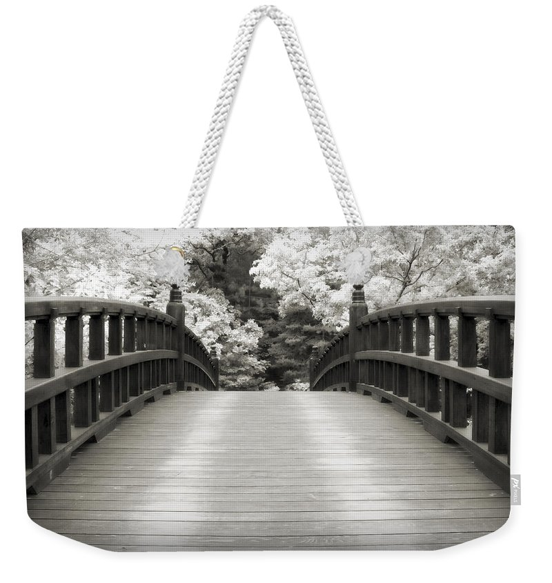 3scape Weekender Tote Bag featuring the photograph Japanese Dream Infrared by Adam Romanowicz
