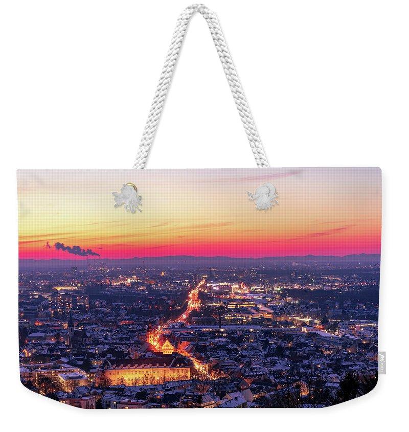 City Lights Weekender Tote Bags