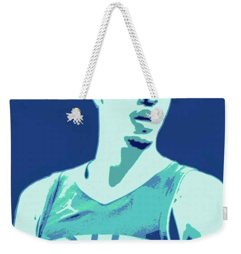 Lamelo Weekender Tote Bag featuring the painting LaMelo Ball by Jack Bunds