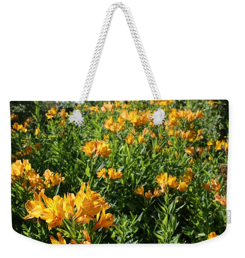 Sunset Orange Weekender Tote Bags