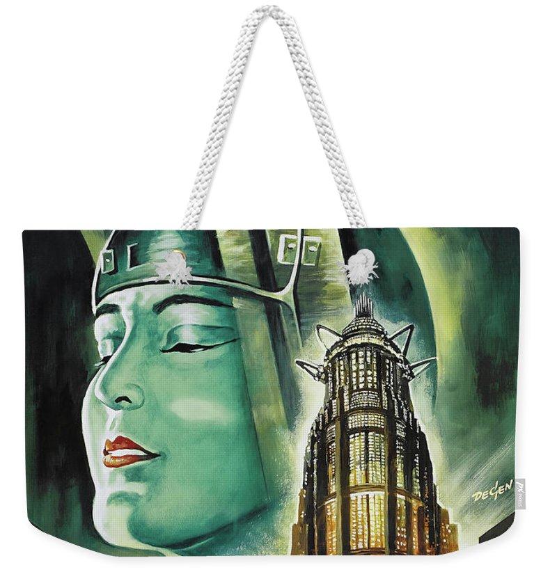 Metropolis Weekender Tote Bags
