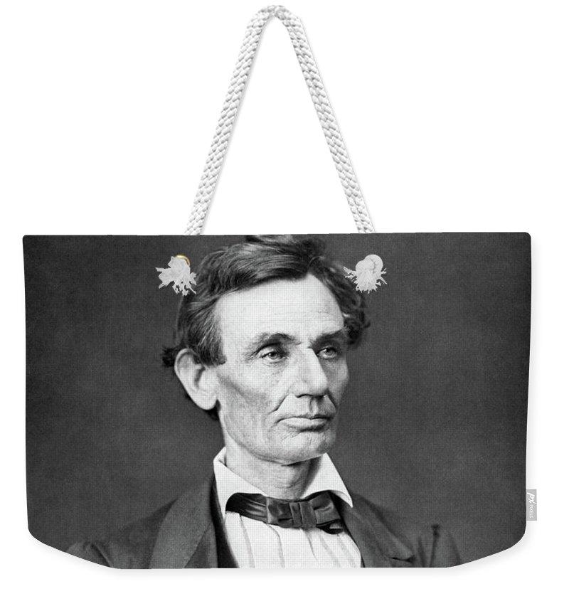 Lincoln Weekender Tote Bags