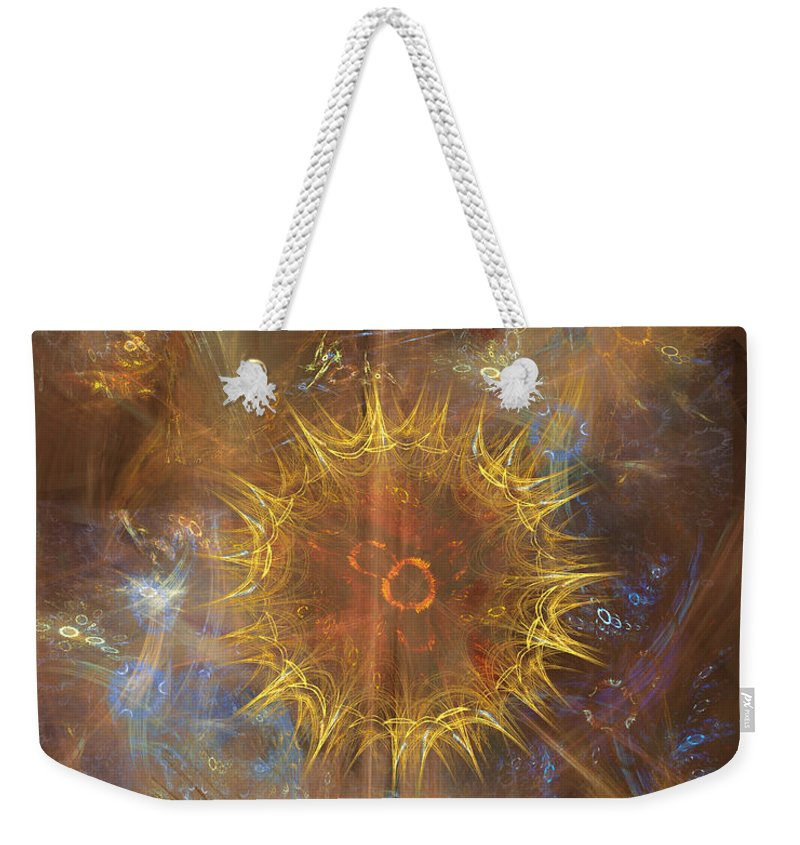 One Ring To Rule Them All Weekender Tote Bag featuring the digital art One Ring To Rule Them All by John Robert Beck