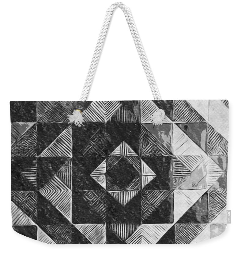 Art Weekender Tote Bag featuring the digital art Originated From Within by Andrew Johnson