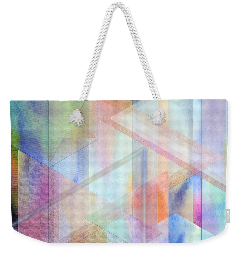 Pastoral Moment Weekender Tote Bag featuring the digital art Pastoral Moment by John Robert Beck