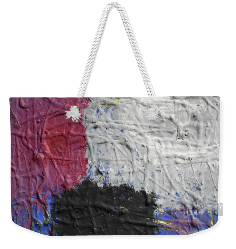 Colorado Weekender Tote Bag featuring the painting Patchwork by Pam Roth O'Mara