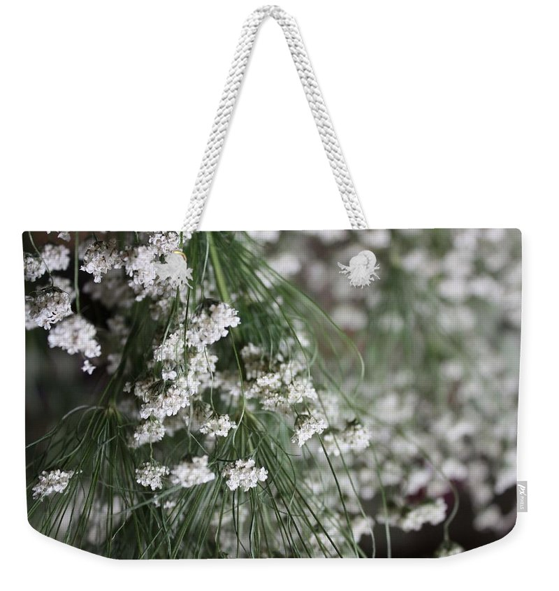 White Weekender Tote Bags