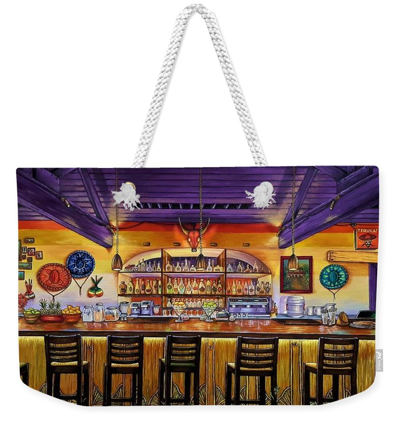 Ready To Open Weekender Tote Bag featuring the painting Ready To Open by Donna L Byers