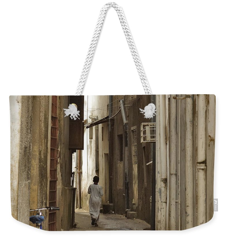 3scape Weekender Tote Bag featuring the photograph Stone Town by Adam Romanowicz