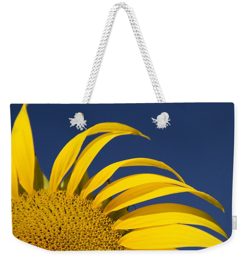 3scape Weekender Tote Bag featuring the photograph Sunflower by Adam Romanowicz