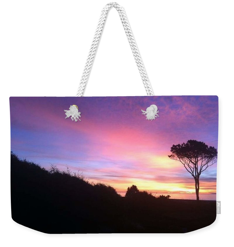 Landscape Weekender Tote Bag featuring the photograph Sunrise 5 by Michael Stothard