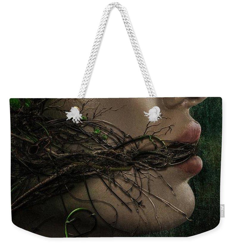 Swamp Thing Weekender Tote Bags