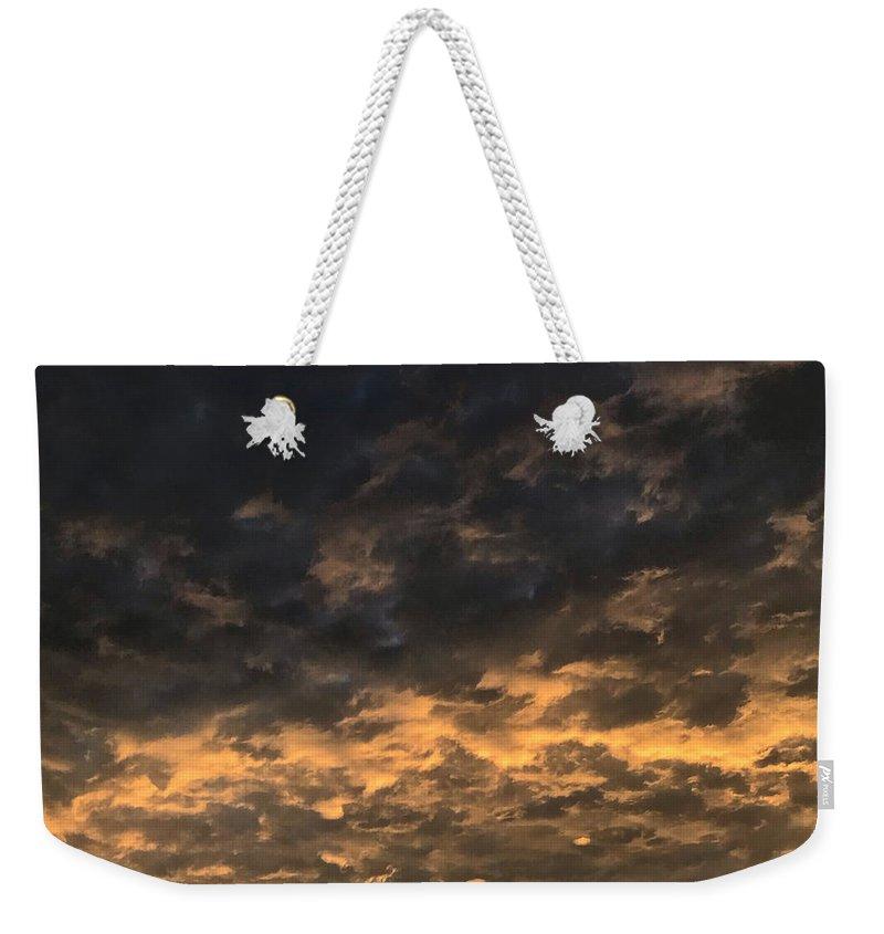 Storm Cloud Weekender Tote Bags